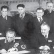 Тито и Димитров подписват договор за добросъседство, с който България се отказва от своите малцинства във федерацията