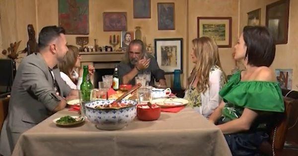 """Андрей Слабаков с гостите си в """"Черешката на тортата"""""""