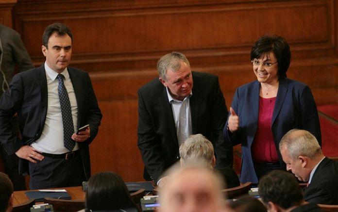 Нинова провежда тест по история на депутатите си