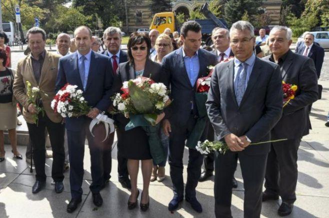 С цветя червеното ръководство ще посрещне руските купувачи на земя