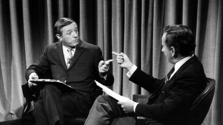 Един от легендарните телевизионни дебати между консерватора Уилям Бъкли, приятел на евреите и Израел и крайния левичар и антисемит Гор Видал.