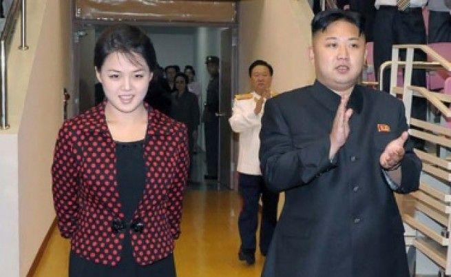 И Сол-джу и Ким Чен Ун