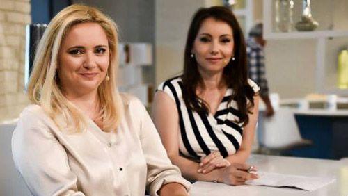 Лора Крумова и Галя Щърбева