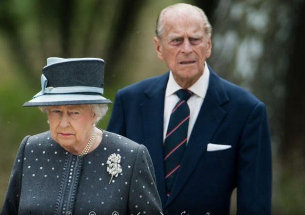 Елизабет II и принц Филип