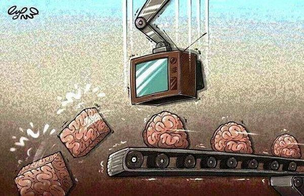 Медийно форматиране на мозъците