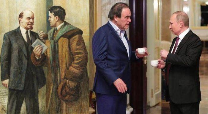 Американски журналисти обслужват и Путин по ленински