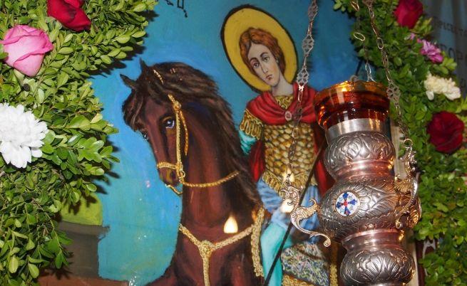 Св. Димитър. Икона