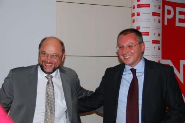 Мартин Шулц и Сергей Станишев
