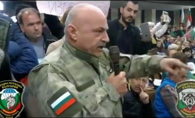 Началникът на щаба Владимир Русев