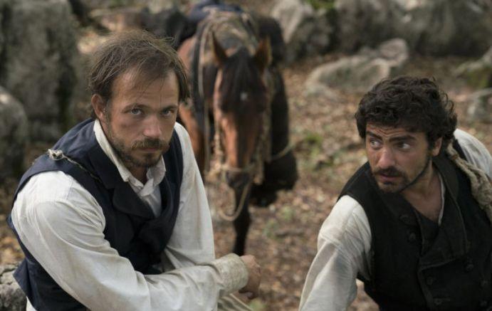 Главните герои Гичо и Асенчо (Александър Алексиев и Стоян Дойчев)