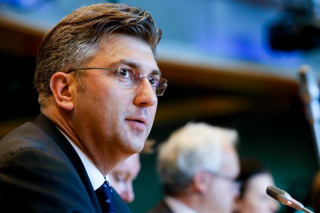 Хърватският премиер и лидер на Христиандемократическия съюз (ХДС) Андрей Пленкович