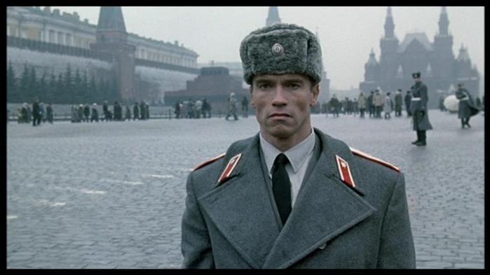 """Арнолд Шварценегер в """"Червена топлина"""""""