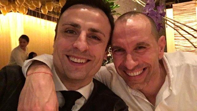 Димитър Бербатов и Мартин Петров