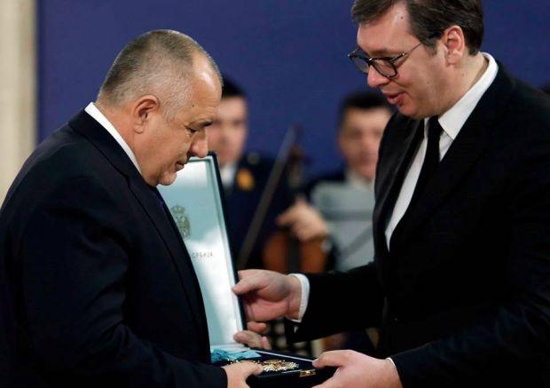 Вучич награждава Борисов