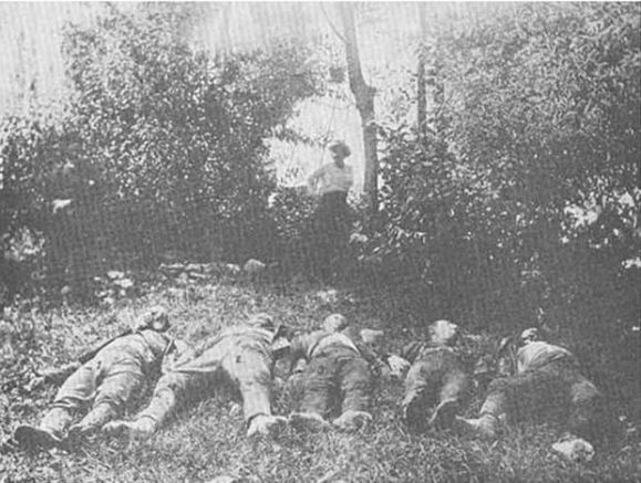 Убитите български офицери 1913 година