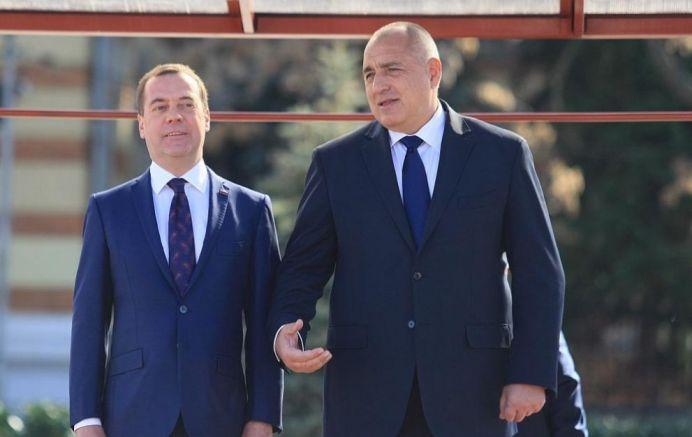 Дмитрий Медведев и Бойко Борисов