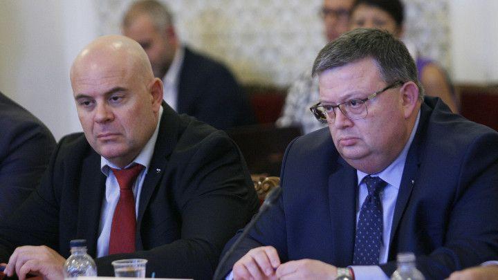 Иван Гешев и Сотир Цацаров