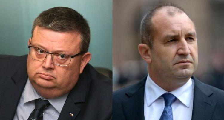 Сотир Цацаров и Румен Радев в остър сблъсък по шпионския скандал