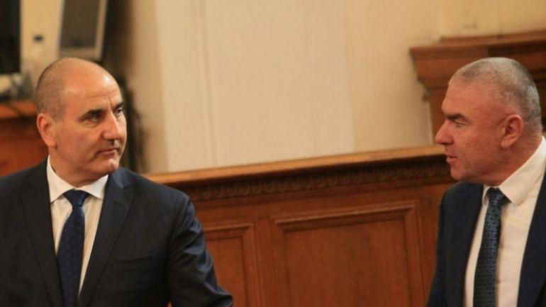 Цветанов и Марешки, снимка: news.bg