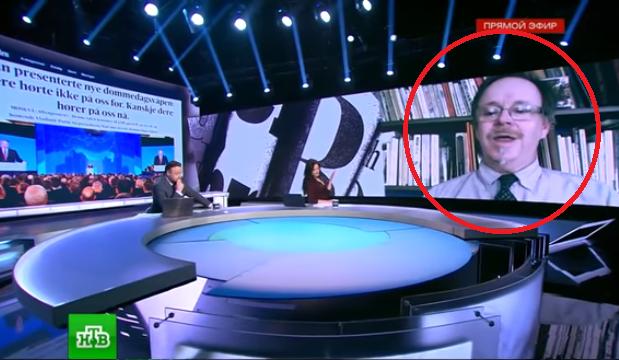 Даниел Уелш в ефира на НТВ