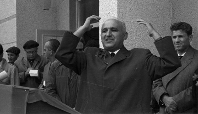 Другарят Тодор Живков, снимка: БТА