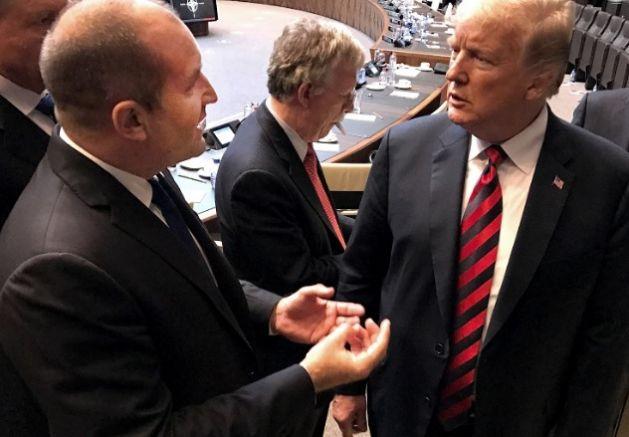 Румен Раден и Доналд Тръмп