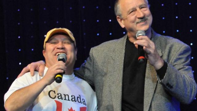 """Георги Мамалев и Павел Поппандов в годините, когато пееха """"Ех, Канада"""" и бяха приятели"""