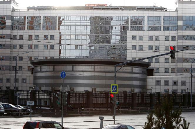 Сградата на ГРУ в Москва, снимка: Ройтерс