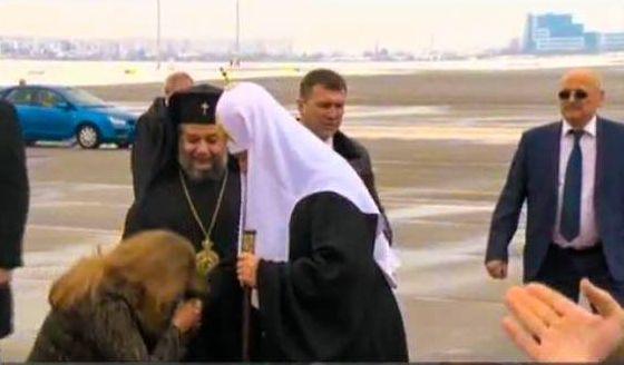 Вицепрезидентът посреща руския гост