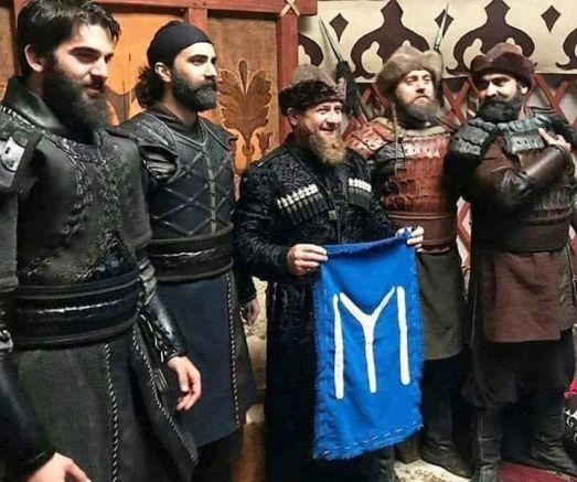 Кадиров със знака на Дуло