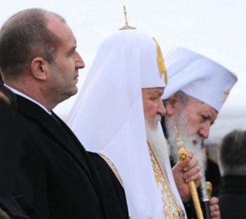 Румен Радев и патриарсите Кирил и Неофит