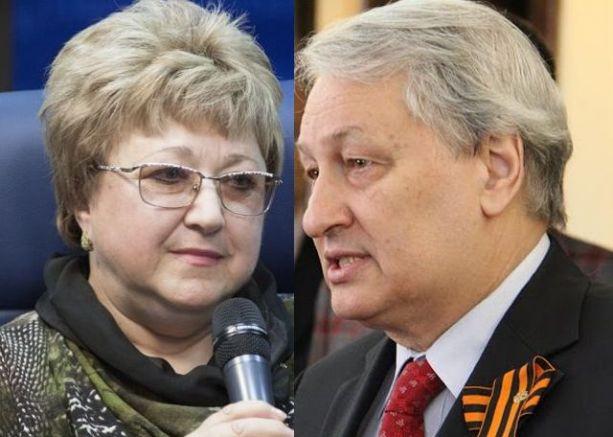 Олга и Леонид Решетникови