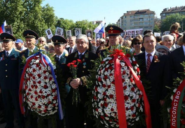 "Посланик Макаров ""Маратон на победата"", снимки: фейсбук на Руското посолство"
