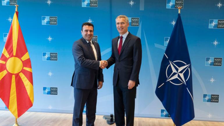 Зоран Заев и Йенс Столтенберг
