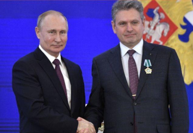 Путин и разследваният за шпионаж русофил