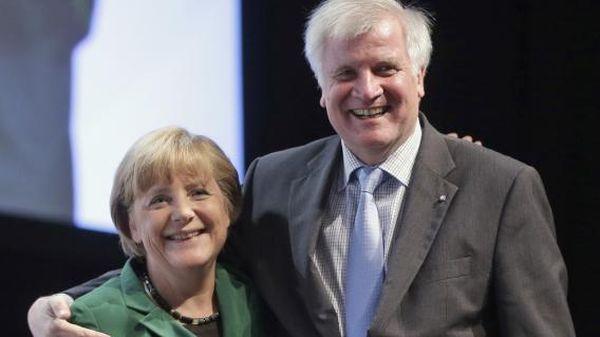 Меркел и Хорст Зеехофер