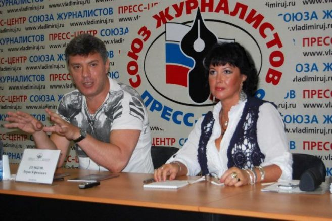 Наталия Новожилова до Борис Немцов