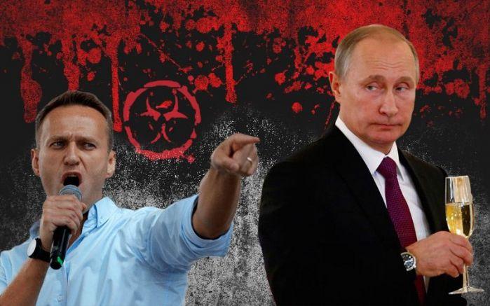 Навални и Путин