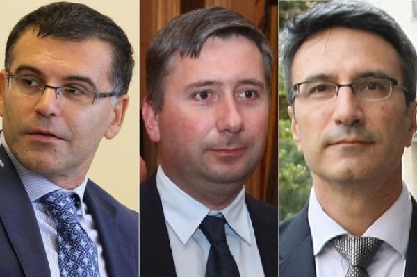 Симеон Дянков, Иво Прокопиев и Трайчо Трайков