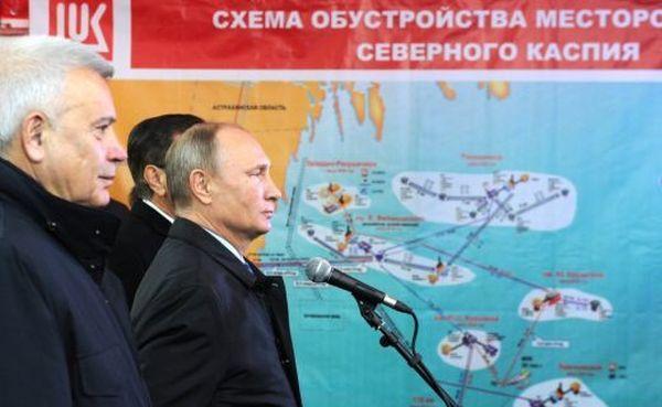 Путин пред своя проектодокумент за подялба на Каспийско море