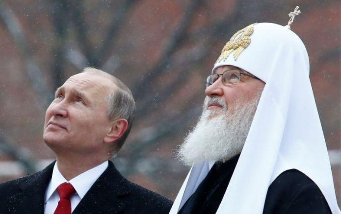 Путин и Кирил