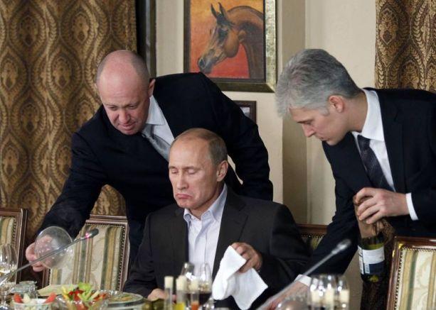 Путин и Пригожин