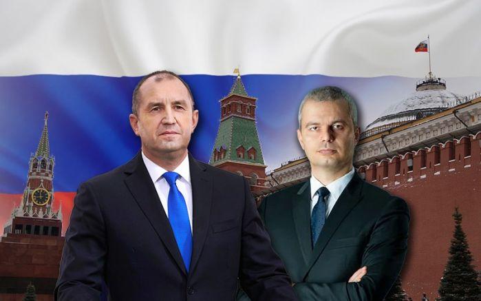 Бойни другари, под знамето на Кремъл