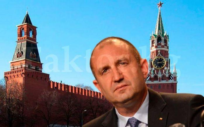 Кремъл е зад гърба му