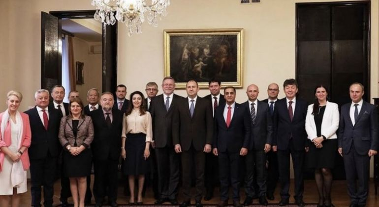 снимка: пресцентър на Президенството