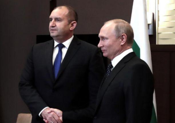 Радев и Путин