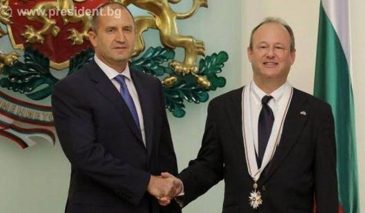 Радев и Рубин, снимка: Президентство на Република България