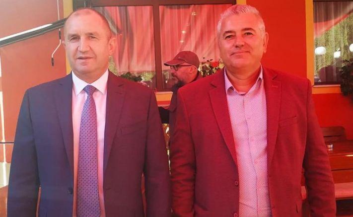 Румен Радев и човекът на БСП