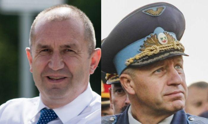 Румен Радев и ген. Стойков