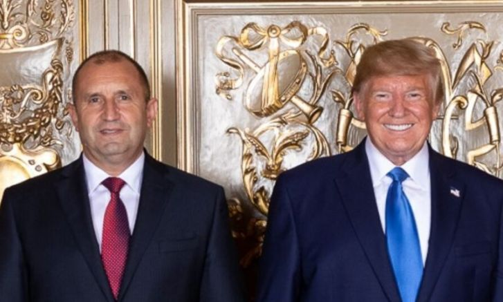 Радев и Тръмп